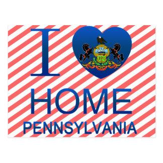 Amo a casa, PA Postal
