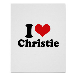 AMO A CHRISTIE POSTERS