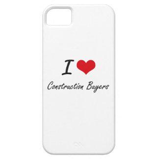 Amo a compradores de la construcción iPhone 5 Case-Mate cobertura