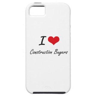 Amo a compradores de la construcción iPhone 5 cárcasa