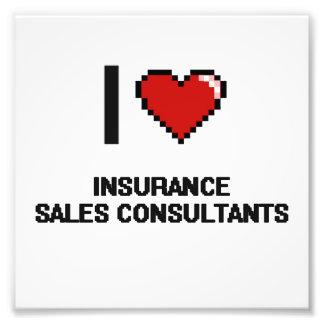 Amo a consultores de las ventas del seguro fotografias