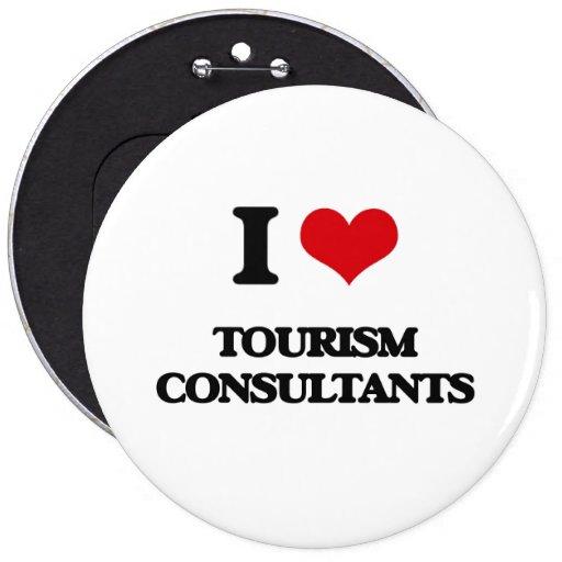 Amo a consultores del turismo pin