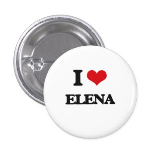 Amo a Elena Chapa Redonda 2,5 Cm