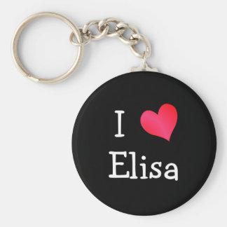 Amo a Elisa Llavero Redondo Tipo Chapa