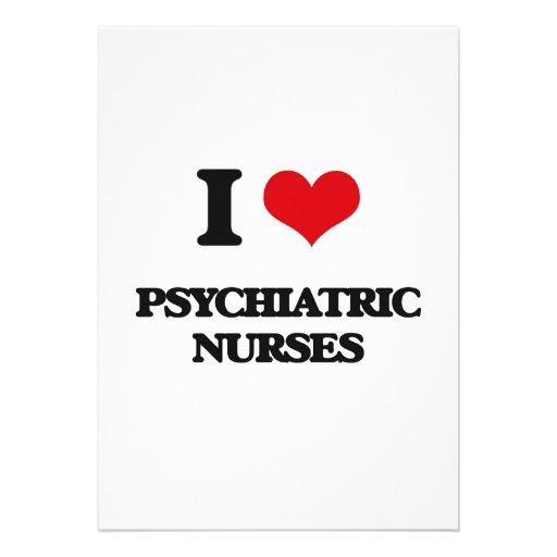 Amo a enfermeras psiquiátricas invitación