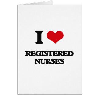 Amo a enfermeras registradoas felicitaciones