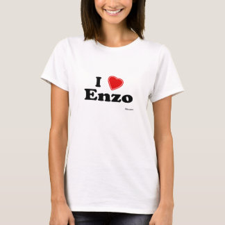 Amo a Enzo Camiseta