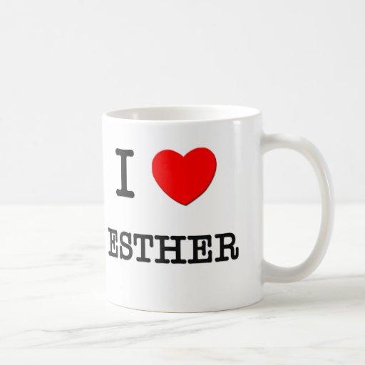 Amo a Esther Taza