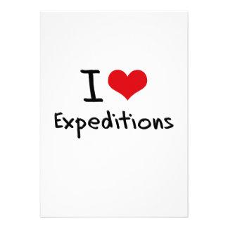 Amo a expediciones comunicado personal