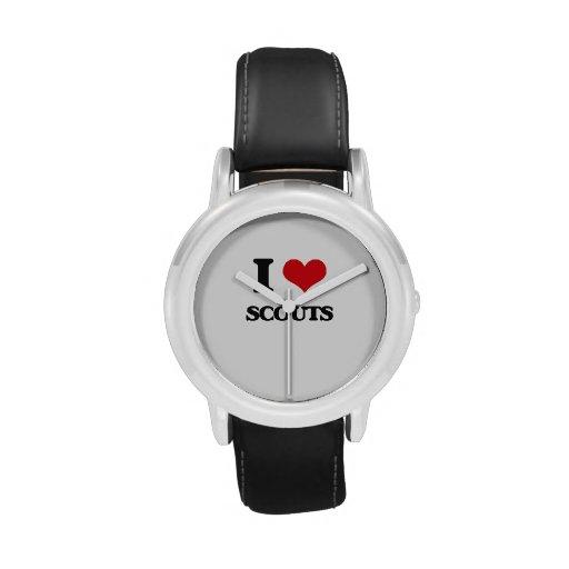 Amo a exploradores relojes