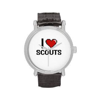Amo a exploradores relojes de mano