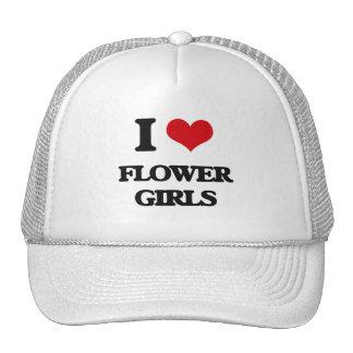 Amo a floristas gorro de camionero