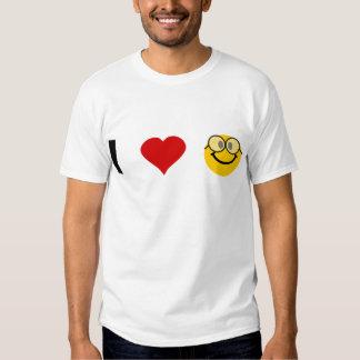 Amo a frikis camiseta