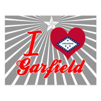 Amo a Garfield Arkansas Tarjeta Postal
