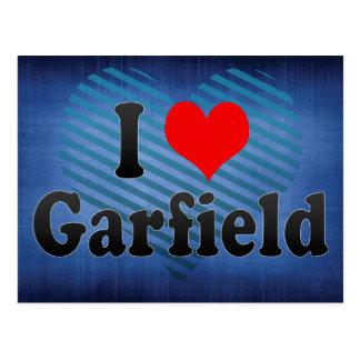 Amo a Garfield, Estados Unidos Tarjetas Postales