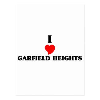 Amo a Garfield Postal