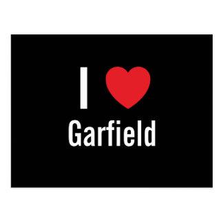 Amo a Garfield Postales