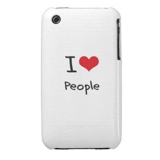 Amo a gente iPhone 3 protectores