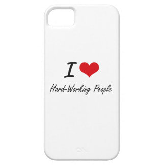Amo a gente trabajadora iPhone 5 Case-Mate cobertura