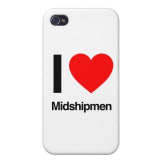 Amo a guardiamarinas iPhone 4 fundas