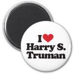 Amo a Harry S Truman Imán De Nevera