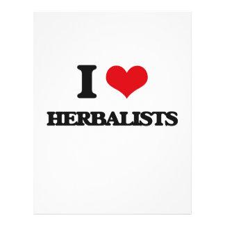 Amo a Herbalists Tarjetones