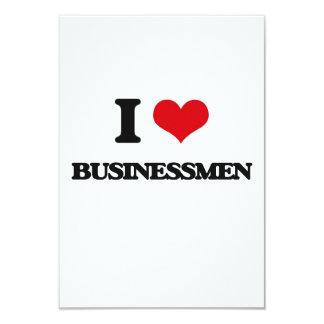 Amo a hombres de negocios comunicado personal