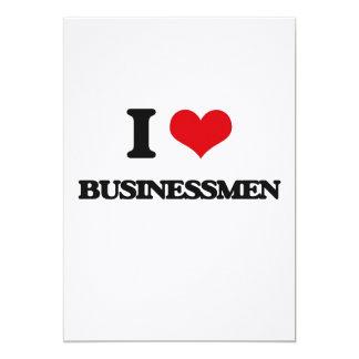 Amo a hombres de negocios invitación personalizada
