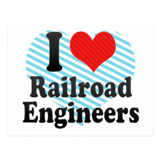 Amo a ingenieros de ferrocarril postal