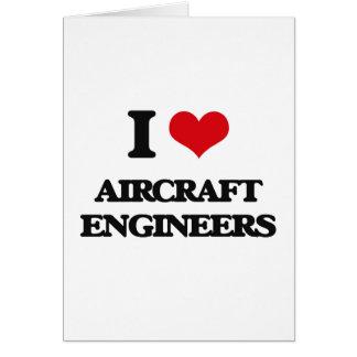 Amo a ingenieros de los aviones felicitaciones