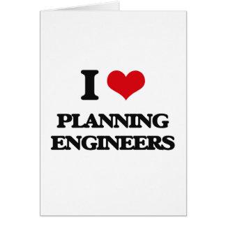 Amo a ingenieros de planeamiento felicitaciones