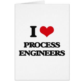 Amo a ingenieros de proceso felicitaciones