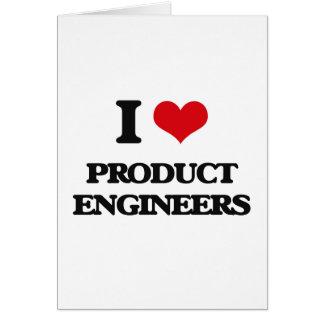 Amo a ingenieros del producto felicitaciones