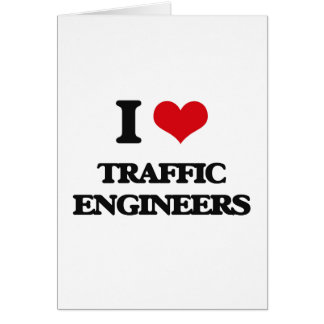 Amo a ingenieros del tráfico felicitaciones