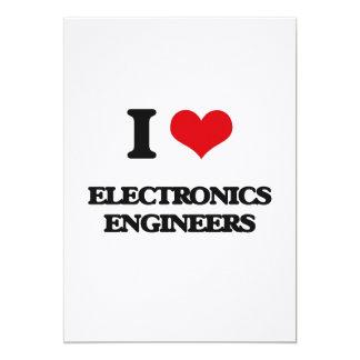 Amo a ingenieros electrónicos comunicado