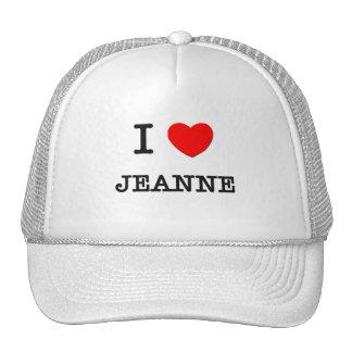 Amo a Jeanne Gorra
