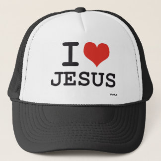 Amo a Jesús Gorra De Camionero