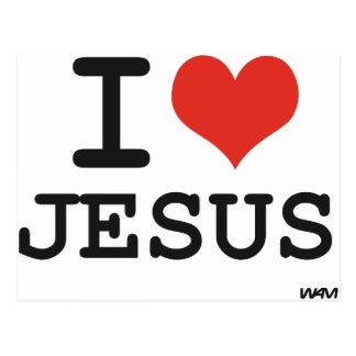 Amo a Jesús Postal