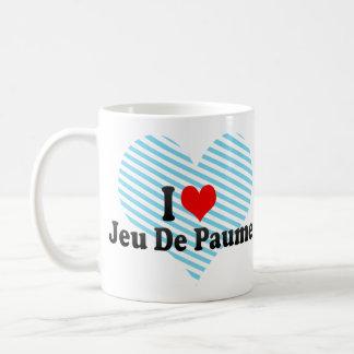 Amo a Jeu De Paume Taza Clásica