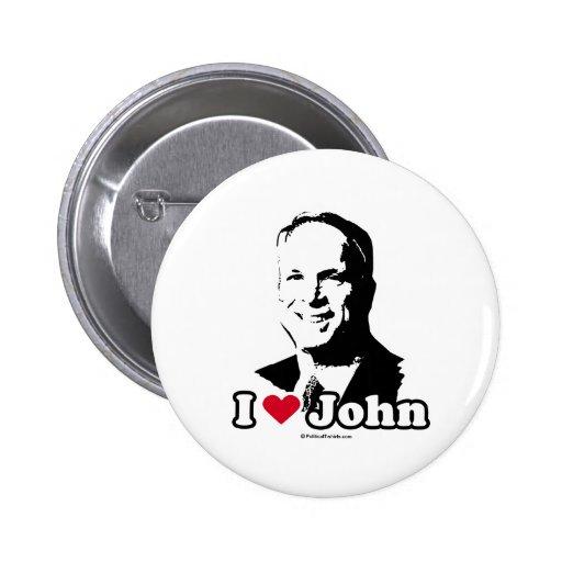 AMO A JOHN MCCAIN PINS