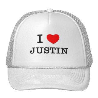 Amo a Justin Gorro De Camionero