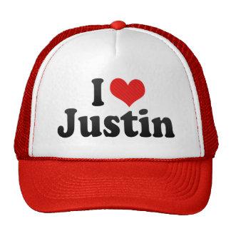 Amo a Justin Gorro