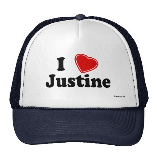Amo a Justine Gorros Bordados