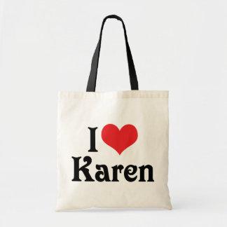 Amo a Karen Bolsas