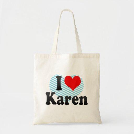 Amo a Karen Bolsas De Mano