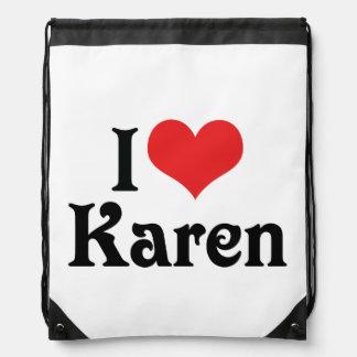 Amo a Karen Mochila