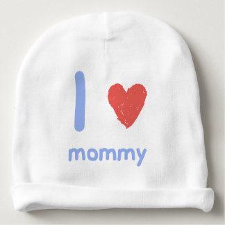 Amo a la mamá gorrito para bebe