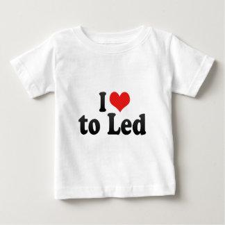 Amo a llevado camiseta
