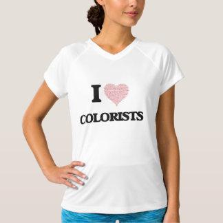Amo a los Colorists (el corazón hecho de palabras) Camisas