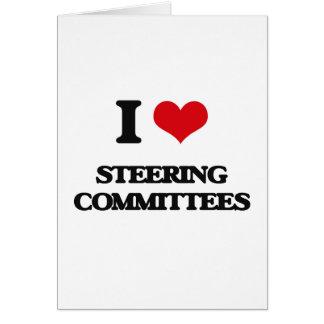 Amo a los comités de dirección tarjeta